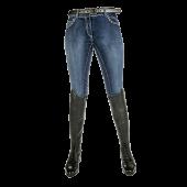 Бриджи НКМ 8210 джинсовые полная лея