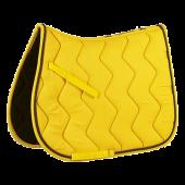 Вальтрап выездка волна со шнуром желтый ЕК-204611