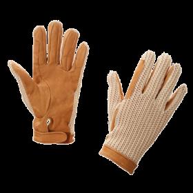 Перчатки кожа с сеткой KR 327751