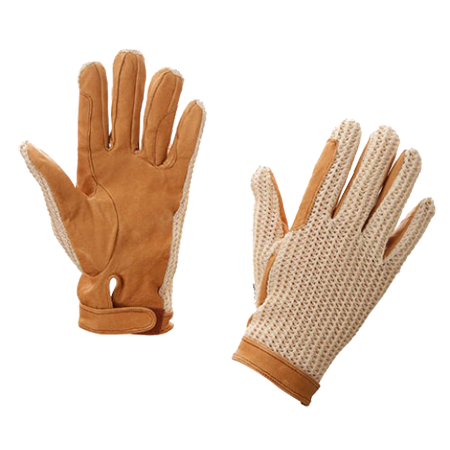 Перчатки кожа с сеткой KR 327751 XL