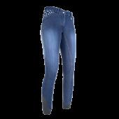 Бриджи НКМ 8003 джинсовые полная силиконовая лея