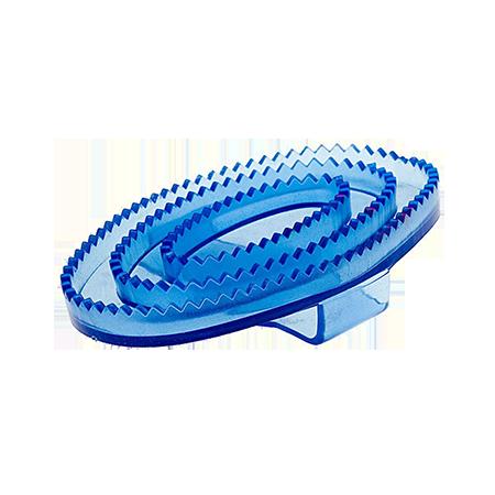 Скребница EQUIMAN резиновая овальная