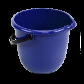 Ведро 15 л КОМФОРТ 10) синее