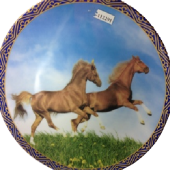 Тарелка лошадь 18051