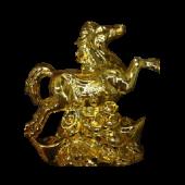 Конь/золото/дыбах/деньгах 18х18см 18073