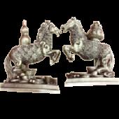 Лошадь/подставка 9см (улоу,деньги) 21106
