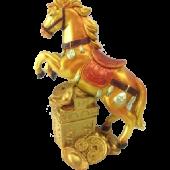 Конь/золото 18см 7040