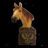 Конь/герб 15см 7042