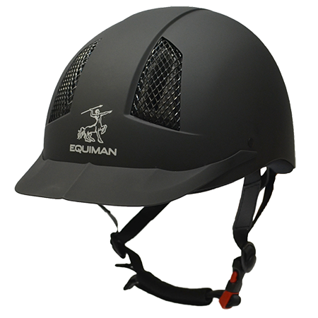 Шлем EQUIMAN COOLMAX пластиковый с регулировкой