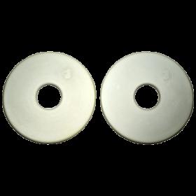 Кольца-ограничитель на трензель, резиновые (13740)